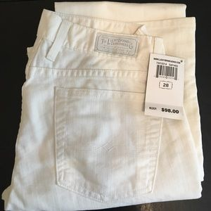 Lucky Brand Dungarees White Size 28 New with tag